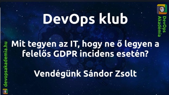 GDPR incidens konferencia